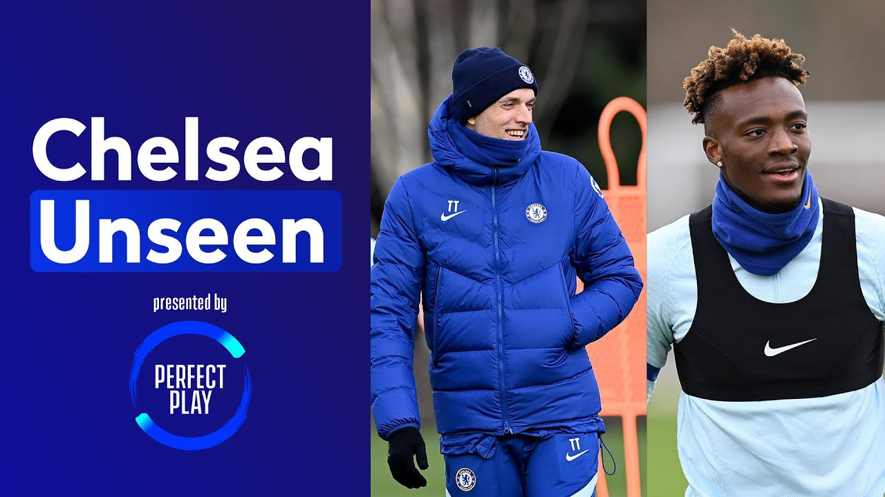 Abraham On Point 🎯 Rondo DOUBLE Nutmegs 😭 Tuchel's New Drills | Chelsea Unseen