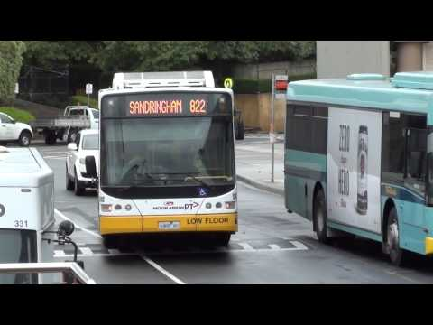 Buses at Chadstone shopping centre - Melbourne Transport