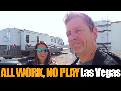 Motorhome RV Living | Las Vegas Work Days, Making Our Way To The Grand Canyon
