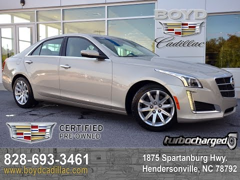 2014 Cadillac CTS Hendersonville NC U7779