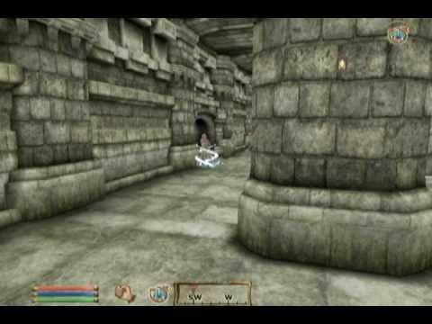 Battling He-Man inside Castle Grayskull in the Elder Scrolls IV: Oblivion!