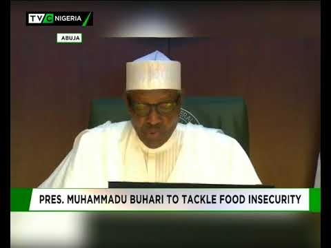 President Buhari promises to Food insecurity
