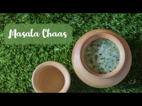 Masala Chaas Recipe-Masala Taak-Mattha Recipe-Spiced Buttermilk-Kalimirchbysmita-Ep285