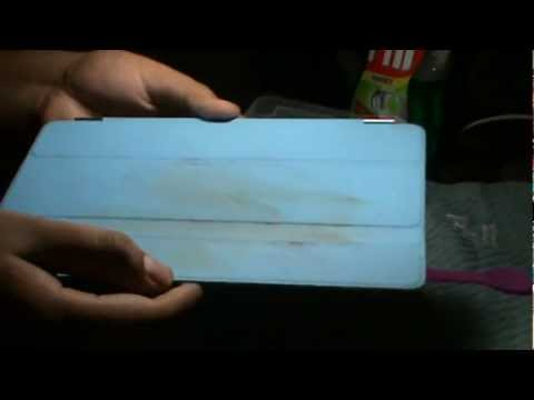 How to Clean Your iPad Smart Cover / Case