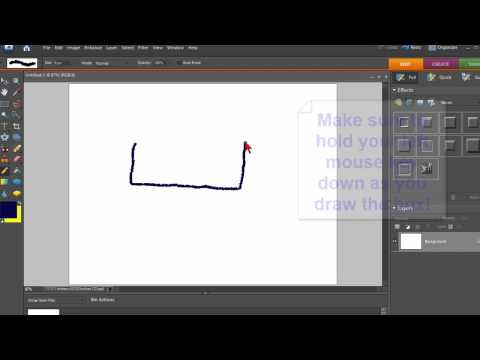How To Create A Hand Drawn Box In Photoshop Elements