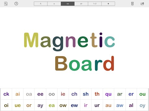 Magnetic Touch Board App Preview