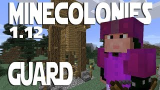 Minecraft Minecolonies 1 12 ep 1 - Getting Started With A