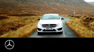 My Guide Scotland: Éclair Fifi and the Mercedes-Benz CLA