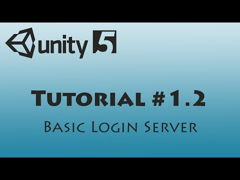 [Unity] MMO Tutorial #001.2 - Creating the basic login server