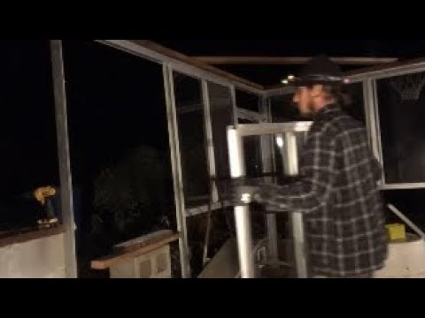 Reclaimed Windows Greenhouse Build #1 (how to build a greenhouse)(recycled window greenhouse)