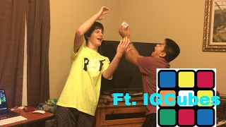 CubeTop vs Dark Knight & Big Mac Boot Race (Ft. IGCubes)