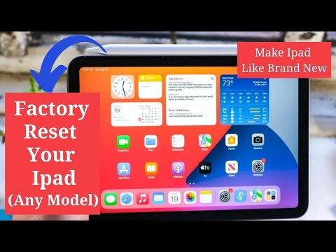 How to Reset Ipad 1,2,3, and mini