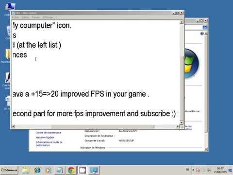 Improve your FPS in league of legends