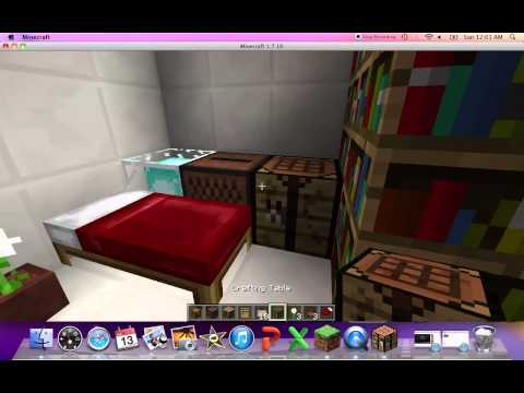 Minecraft How to Make a Cruise Ship Room