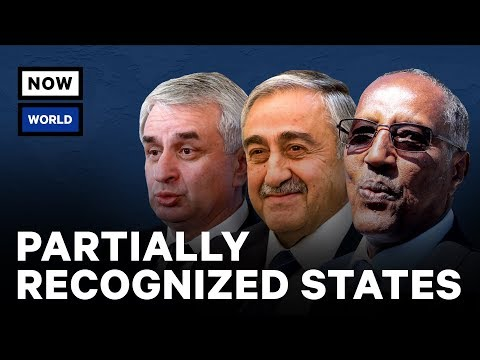 What Are Some of the World's Unrecognized Countries? | NowThis World