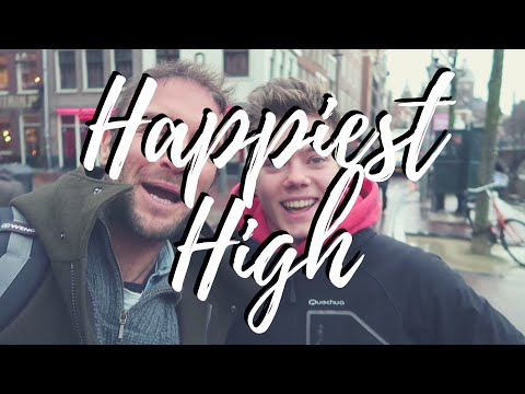 OUR HAPPINESS HIGH IN AMSTERDAM | THE HAPPY PEAR | VLOG