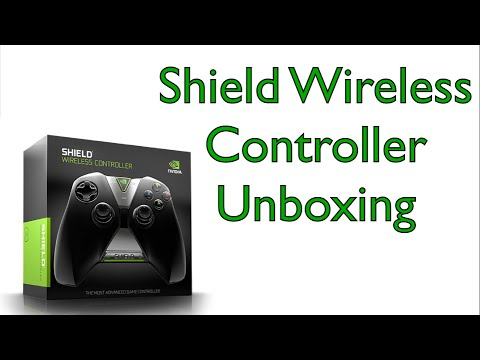 NVIDIA Shield Wireless Controller Unboxing