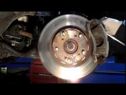 How to replace the front brakes and rotors on a 2006 Honda Accord