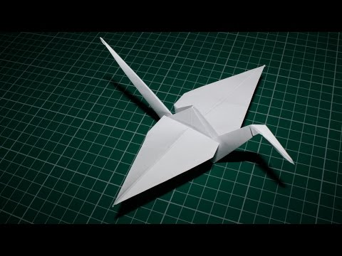 How to Make a Paper Bird Origami