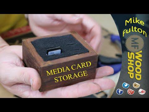 Media Card Storage Box