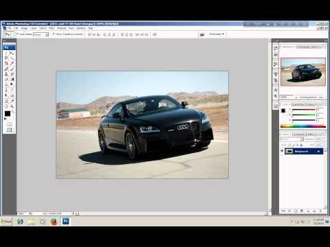 CS3 Tutorial: Adobe Photoshop CS3 Beginners Tutorial (Part-1)