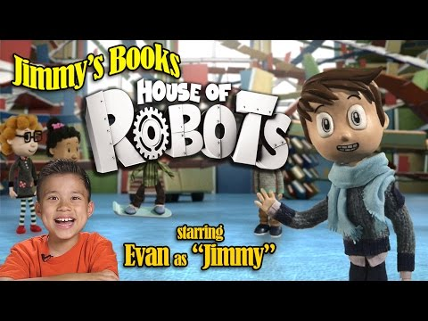 JIMMY'S BOOKS Episode 1  - House of Robots: Robots Go Wild! by James Patterson