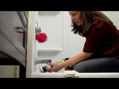 Remove & replace moldy caulk in your tub or shower