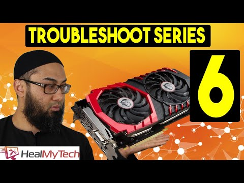 Troubleshoot Series Part 6 | How To Test A Graphics Card Unit | Dead GPU | No Display On Monitor