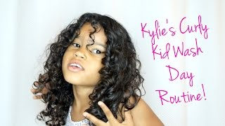 By Aiesha Arab The BEST Wash Day Routine For CURLY Hair Kids