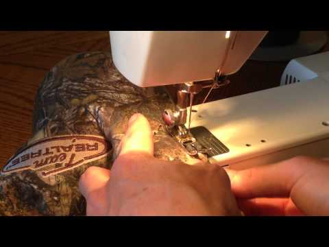 How to Make a Hat Fit - Shortening the Sides