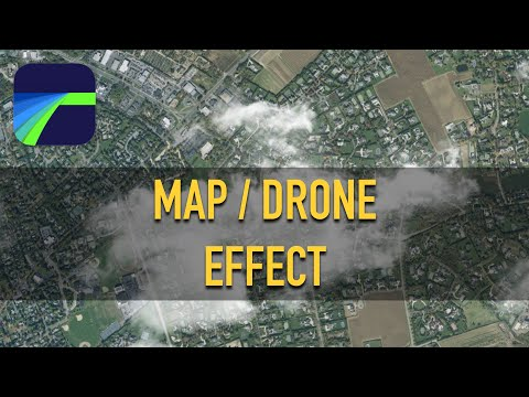 Map / Drone Effect How To Tutorial - LumaFusion