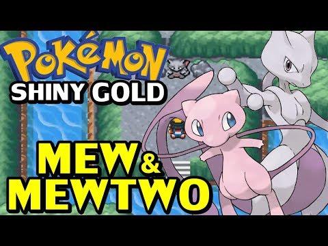 Pokémon Shiny Gold Sigma (Detonado - Parte 39) - Mew e Mewtwo!