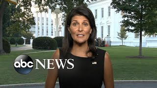 UN Ambassador Nikki Haley weighs in on US military strategy for Afghanistan