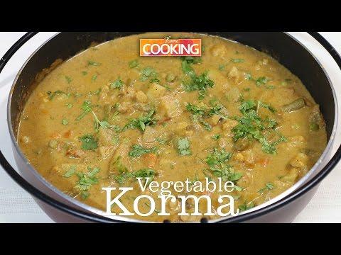 Vegetable Korma (kurma) | Ventuno Home Cooking
