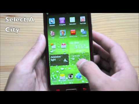 Adding World/Dual Clock Widget Samsung Galaxy S3