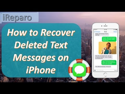 2017 iPhone Message Recovery - Recover Deleted Text Messages on iPhone 7/7 Plus/6S/6S Plus/6/6 Plus