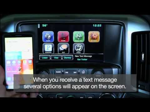 How To Receive Text Messages in Your Car Using Chevy MyLink