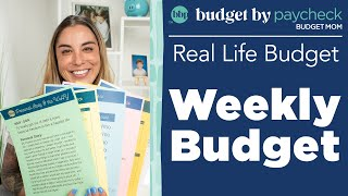 BBP Real Life Budgets - Weekly Budget