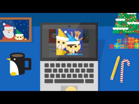 Google Santa Tracker: Santa Selfies