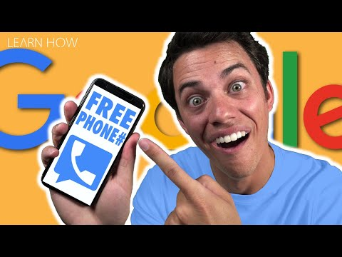 Google Voice - How to get a FREE phone number!