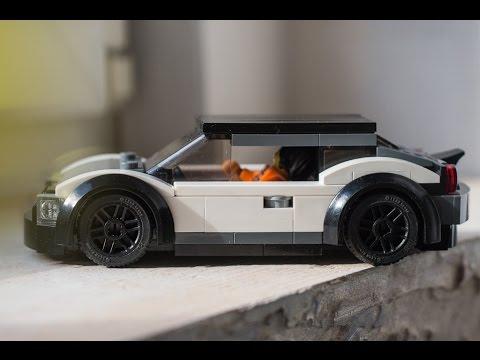 LEGO city sig rig car moc idea! how to build tutorial!