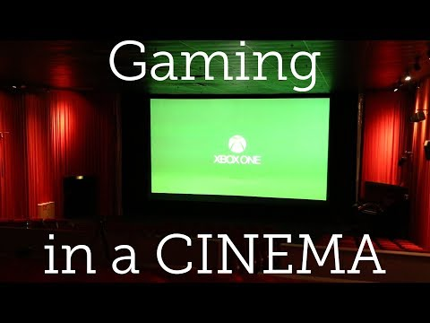Gaming in a CINEMA