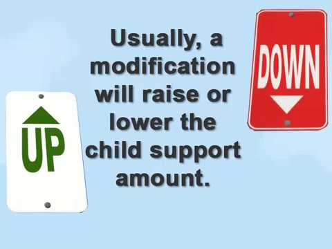 What is a Child Support Modification?