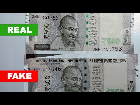 Beware Of Fake Rs500 Note News - Real or Fake?