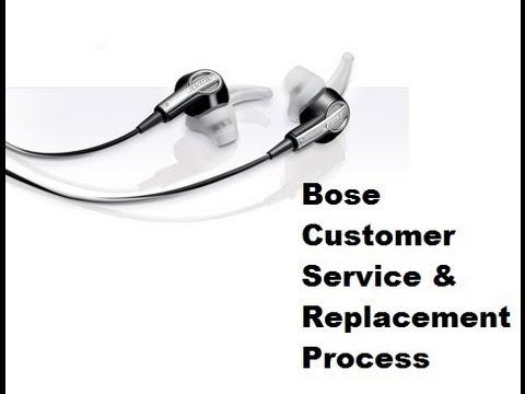 Bose Customer Service & Replacement Process