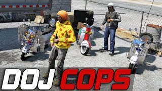 Dept. of Justice Cops #417 - Moped Cruisers