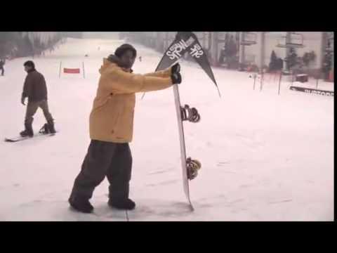 goofie o regular. Aprender snowboard