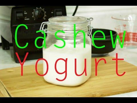 How to Make Cashew Yogurt - Vegan, Gluten-free (Subtitled)