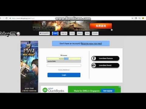 How to hack an account in Deluge Rpg