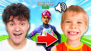 I Pretended to be 5 Year Old in Fortnite
